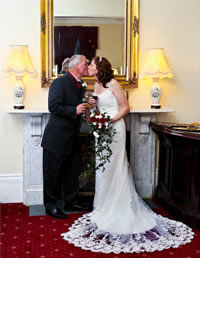 Wedding Couple at Bourne Hall